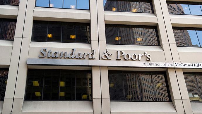 Standard & Poor's Ratings Services revised its outlook on Ukraine